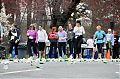 Teilnehmerinnen an einem Marathon im Central Park an einer Verpflegungsstation