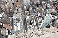 Blick von der Aussichtsplattform vom Empire State Building steil nach unten