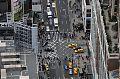 Strassenverkehr von oben gesehen