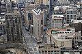Blick vom Empire State auf das Flatiron Building