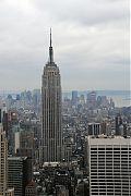 Das Empire State Building in seiner ganzen Pracht.