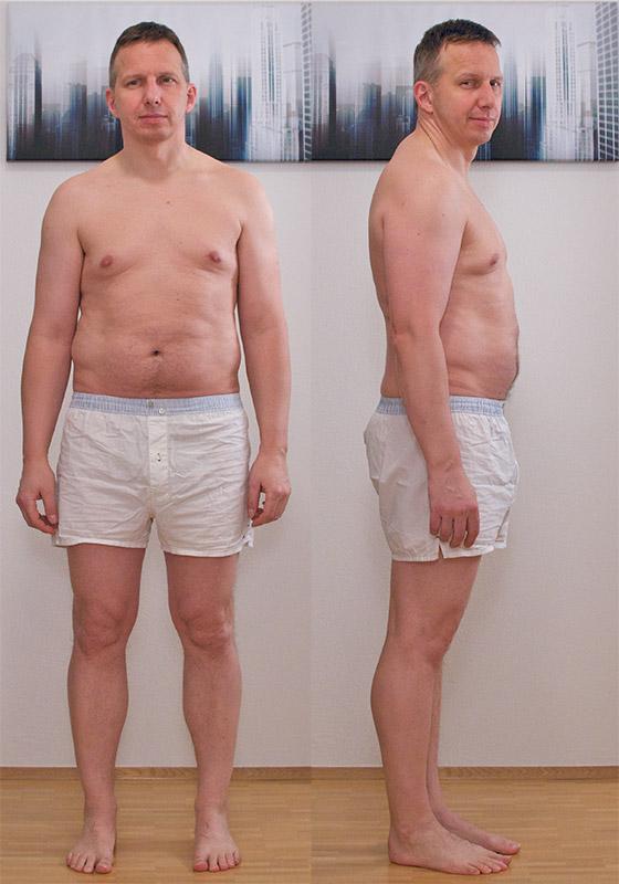 Belly Off 3 vorher